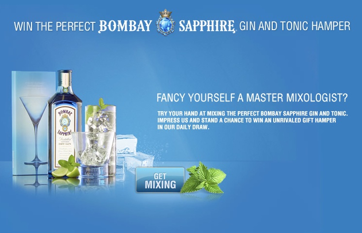Can you mix the perfect Bombay Sapphire gin and tonic?
